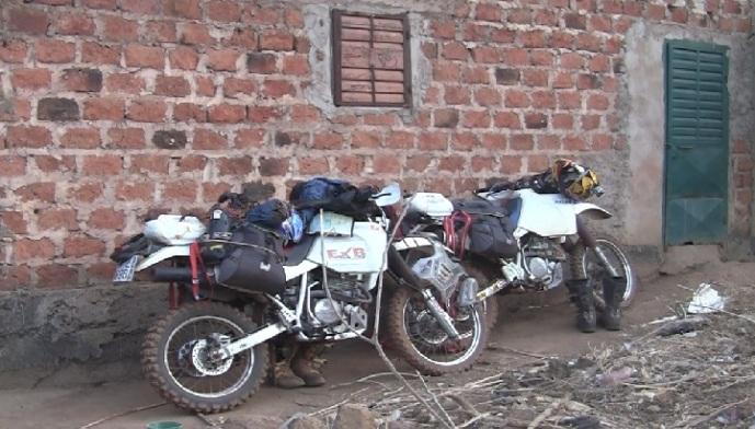 Motos viaje África