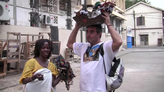 Cambio de papeles en Dakar