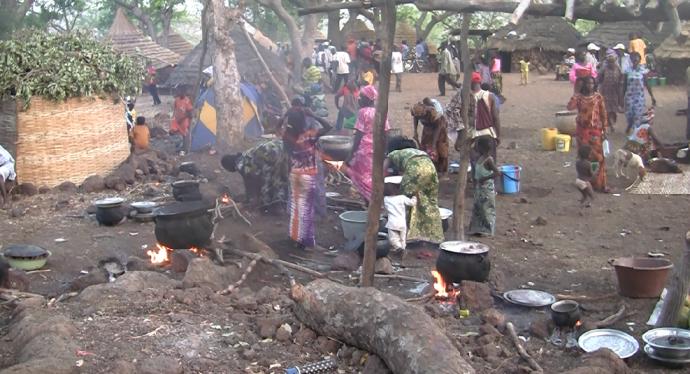 Cocinando en fiesta Ethiolo