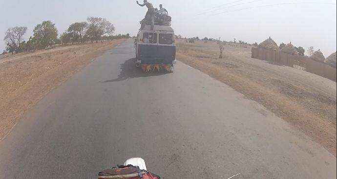 Momentos curiosos carretera Senegal