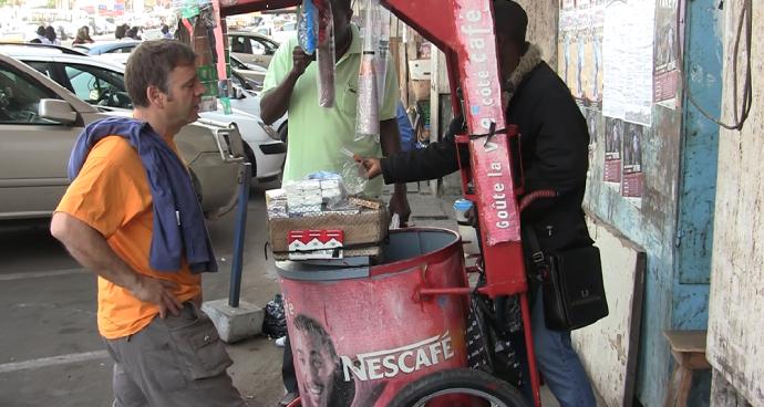 Un cafetito en Dakar