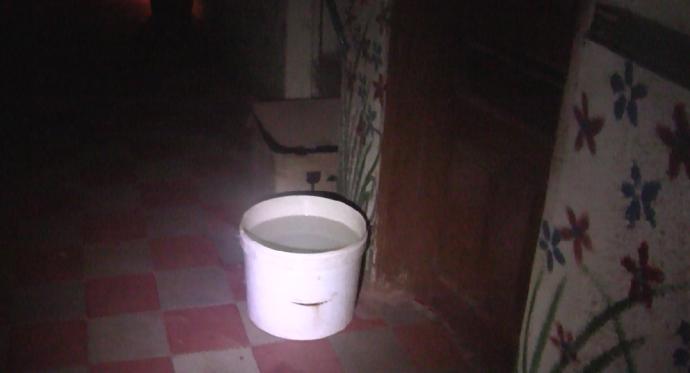 Cubo baño hotel Labe